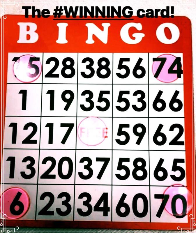 #winning, bingo