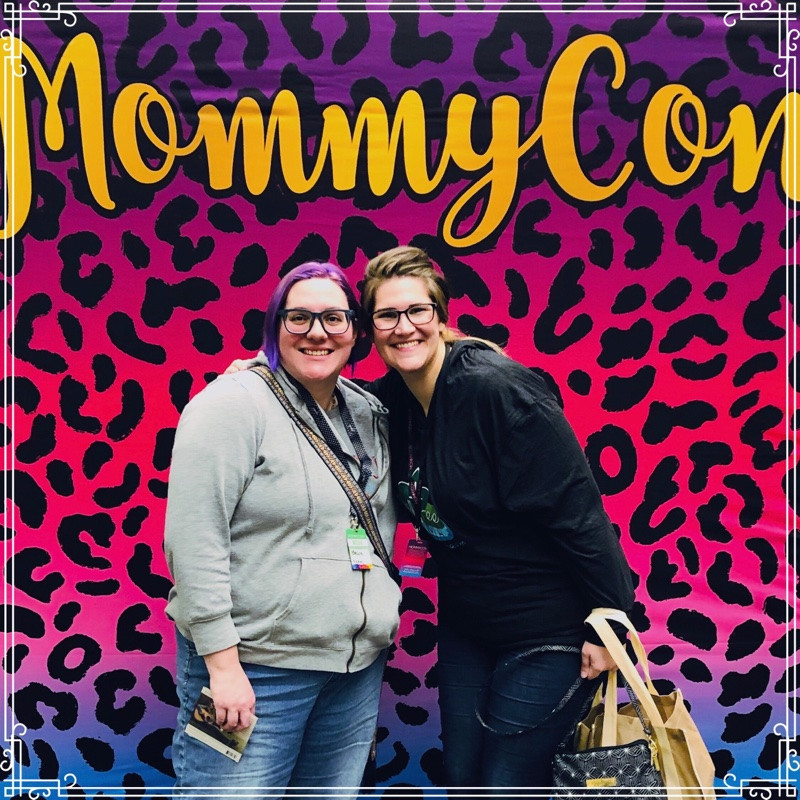 B and B Creations and WellTree Mama at MommyCon Chicago