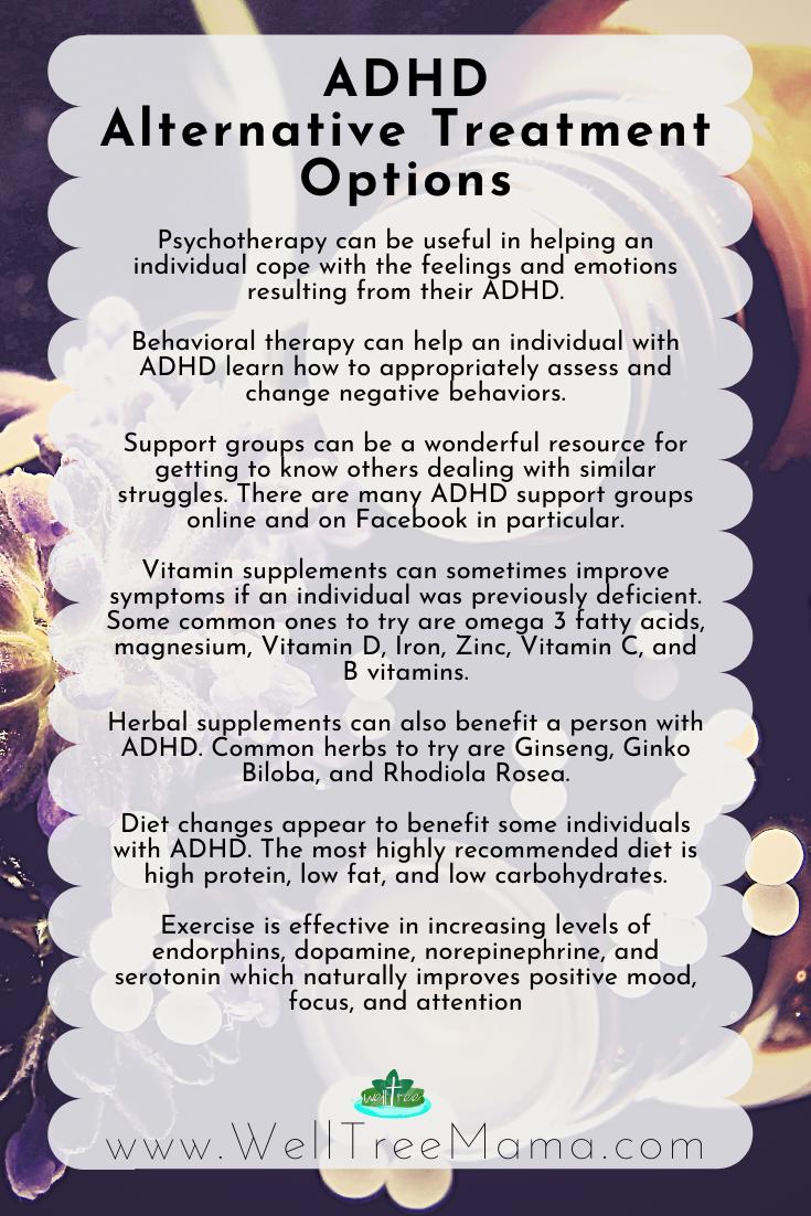 ADHD Alternative Treatment options