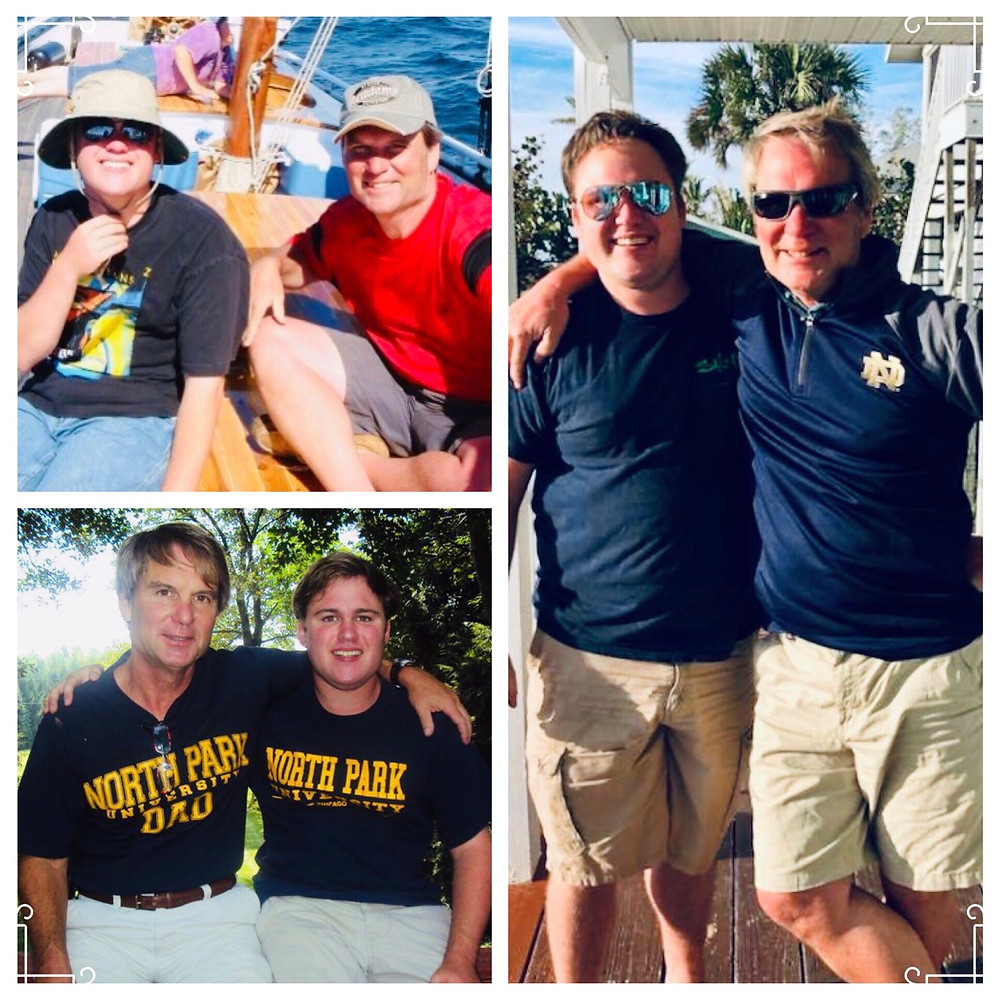 The travels of John and Gordon Sill, Father and Son.