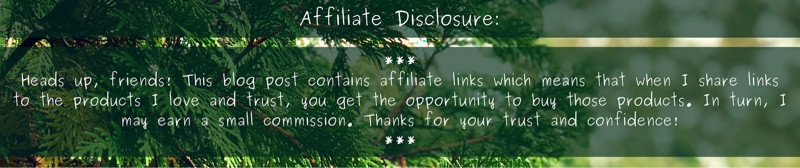 Affiliate Disclosure - Heads up, friends! This blog post contains affiliate links which means that when I share links to the products I love and trust, you get the opportunity to buy those products. in turn, I may earn a small commission. Thanks for your trust and confidence!