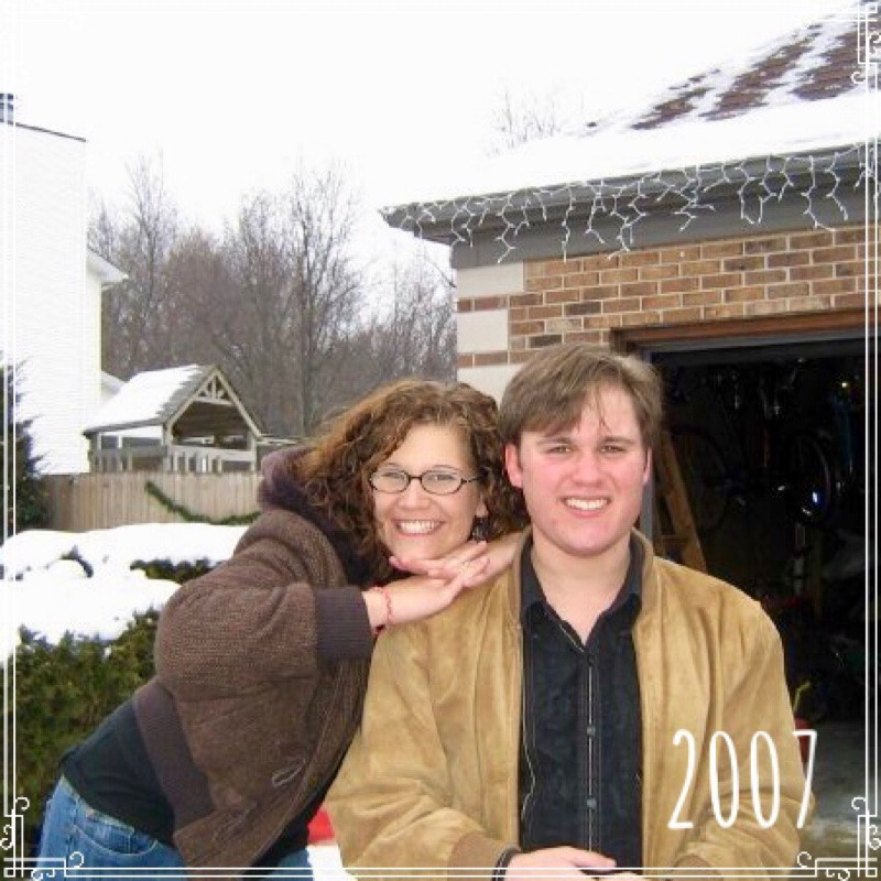 Jessica Davis (Breske) and Gordon Sill, Winter, 2007