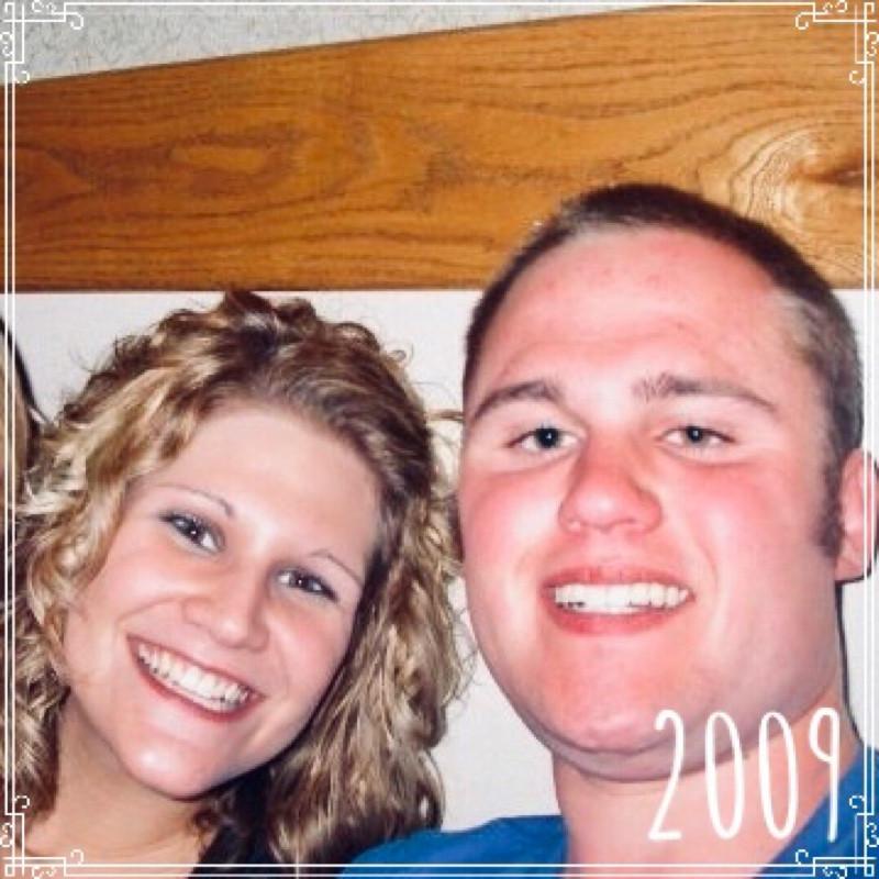 Jessica Davis (Breske) and Gordon Sill, South Bend, Indiana,  2009