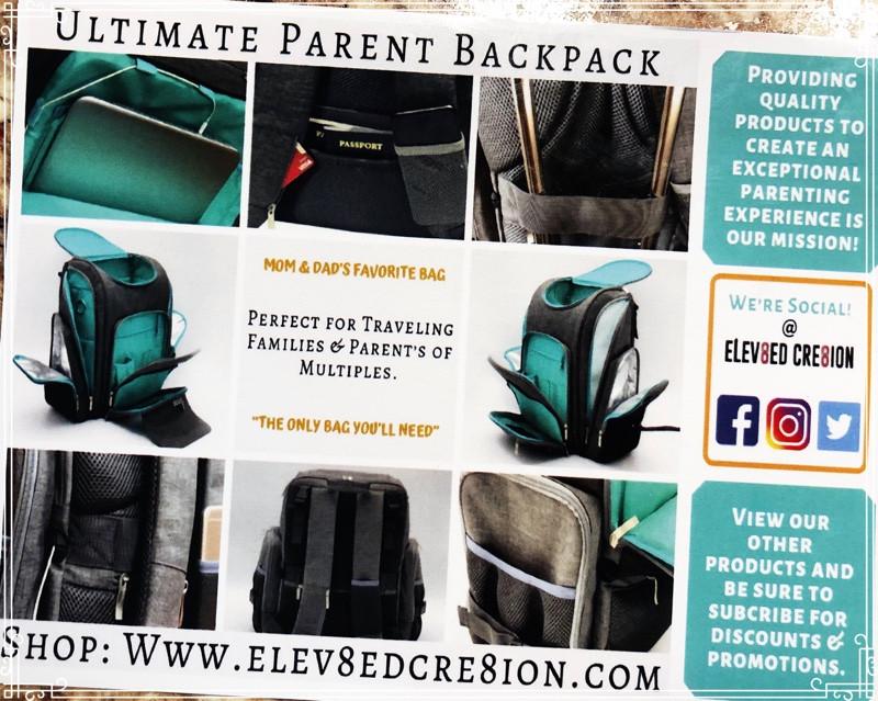 Elev8ed Cre8ion Ultimate Parent Backpack