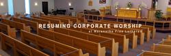 Resuming Corporate Worship