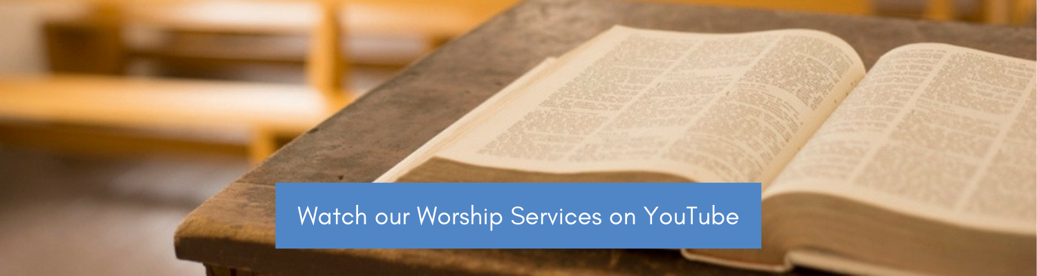 Watch our Sunday Services.