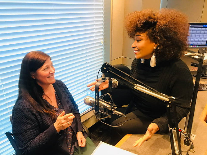 2019 Radio Interview with Hope Marshall.