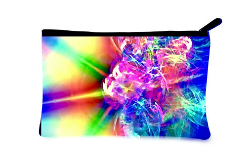 'Transformation' Canvas Zippered Pouch