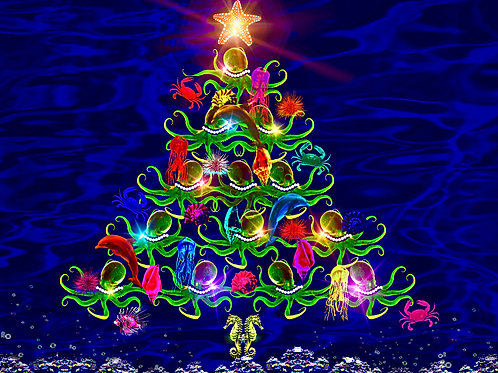 Festive Underwater (Christmas-Themed)