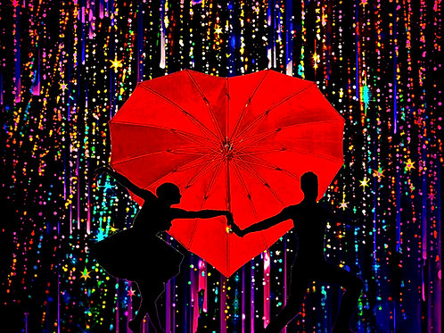Rain Romance (Valentine-Themed)
