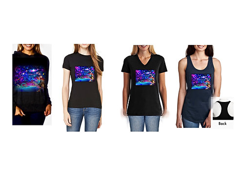 Astral Orchestration - Women's Apparel