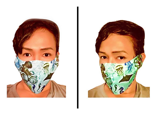 Aquatic World - Protective Mask (Unibody)