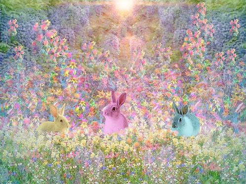 Springtime Bunnies (Easter-Themed)