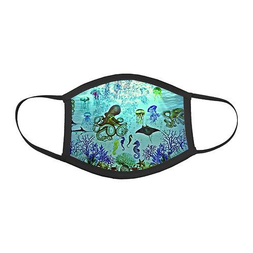 Aquatic World - Protective Mask (Black Border)