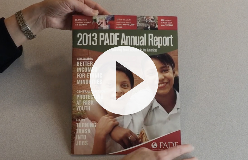 2013 Annual Report (video with energetic music, no dialogue)