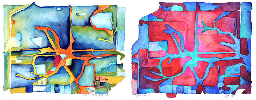 Watercolors by Howard Smith