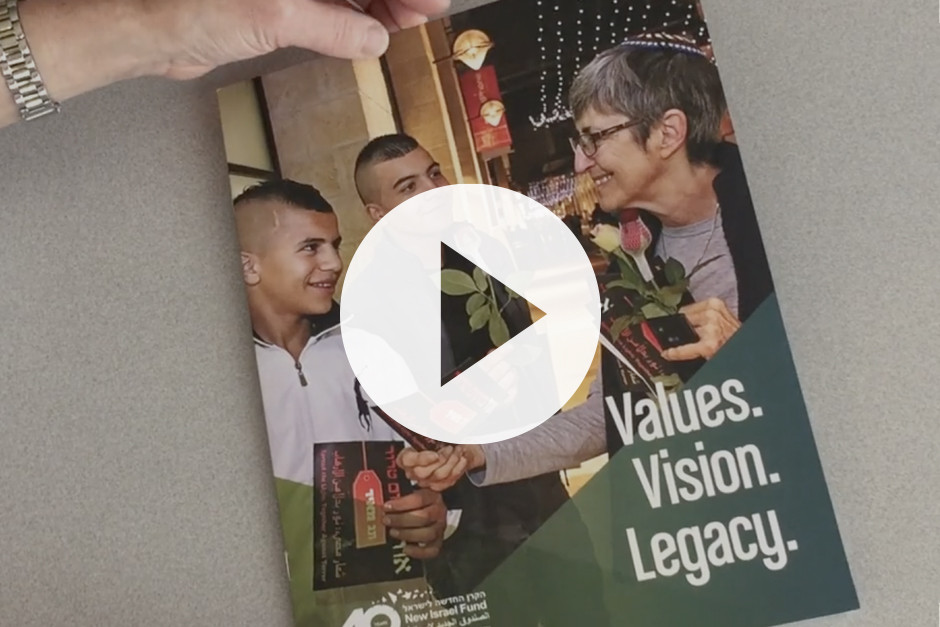 Planned giving brochure (video with energetic music, no dialogue)