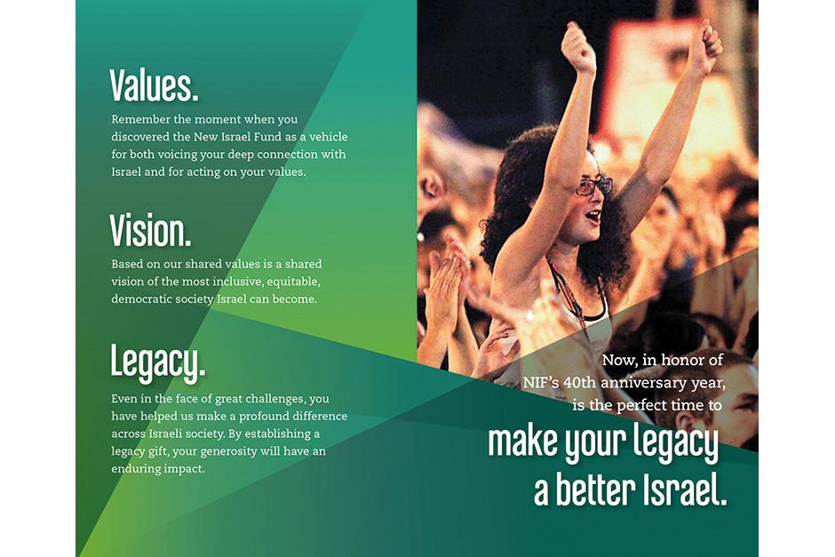 Follow-up brochure spread