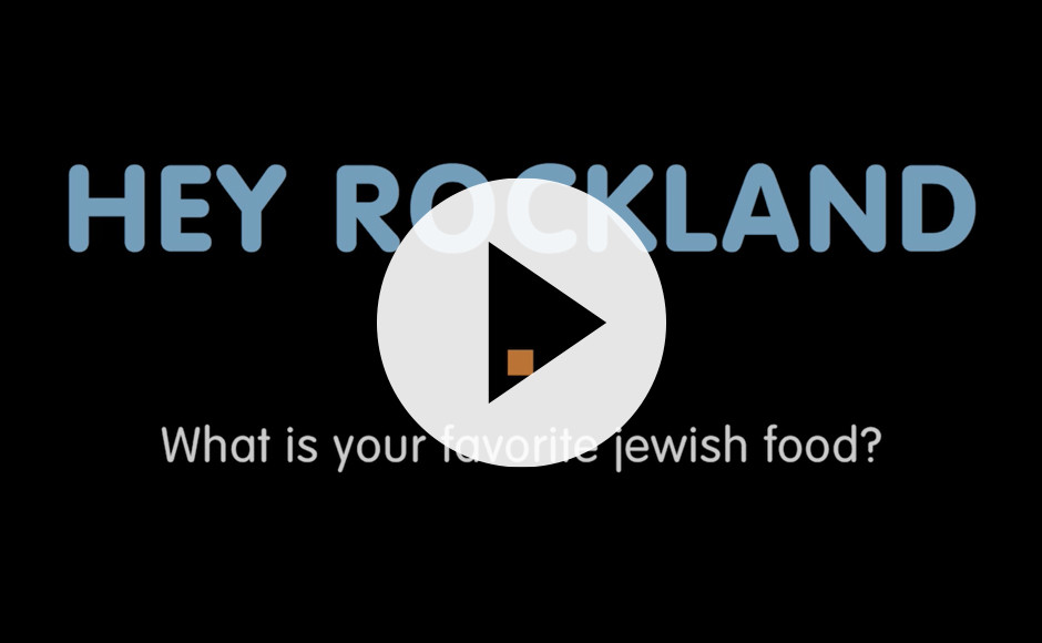 """""""What's your favorite Jewish food?"""" (video with music and dialogue)"""