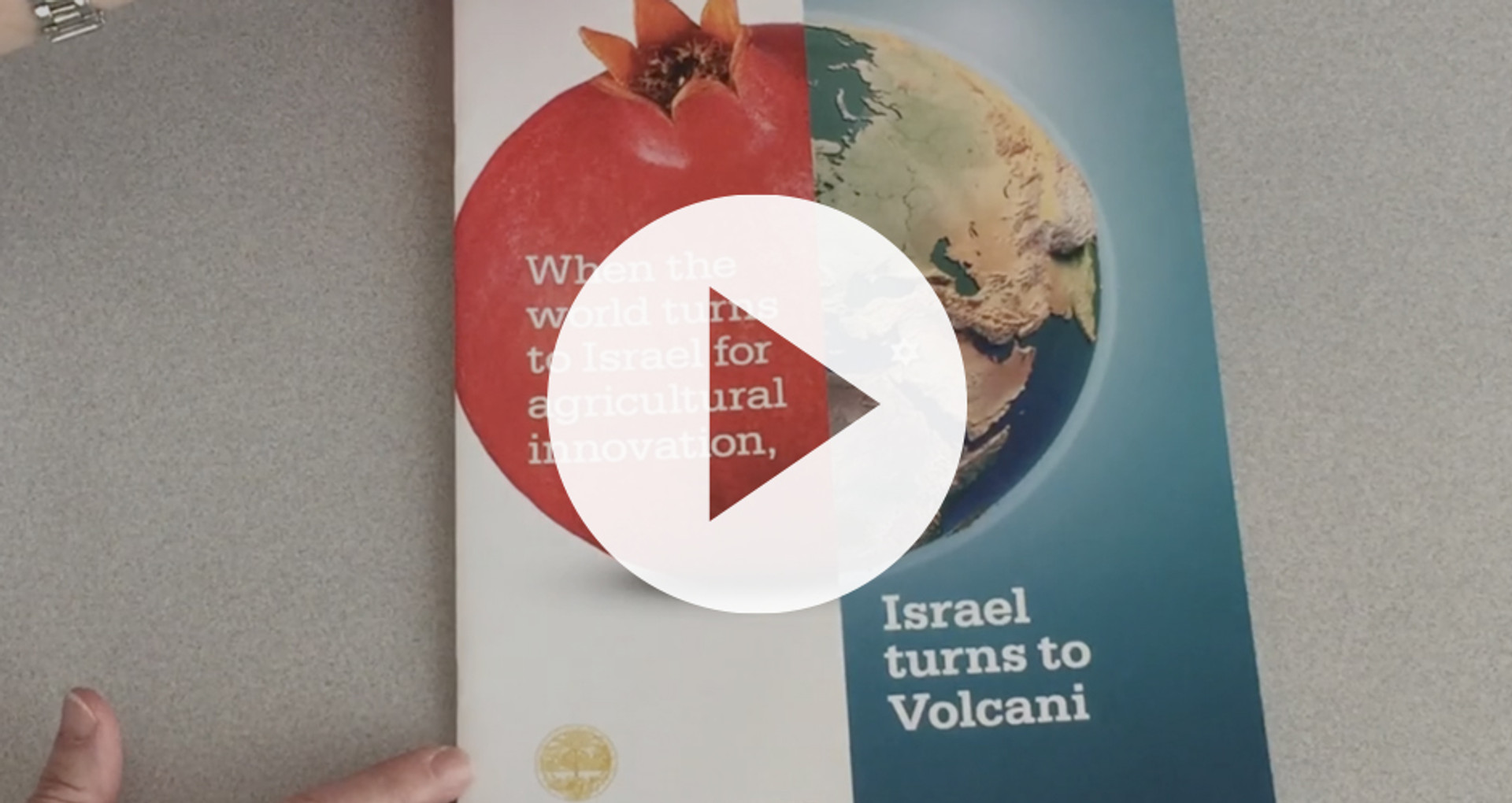 Volcani overview brochure (video with energetic music, no dialogue)