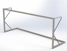 Bramka_5x2_wolnostojąca_cała_aluminiow
