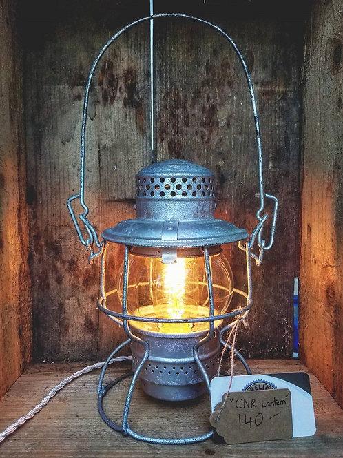 """""""Hiram L. Piper Co."""" Lantern"""