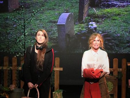 """""""Más frío que aquí"""" se estrena con gran éxito en el Teatro Zorrilla de Valladolid."""