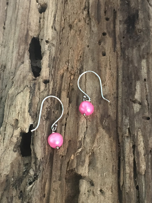 Frida Ruby Sweet Pink Earrings