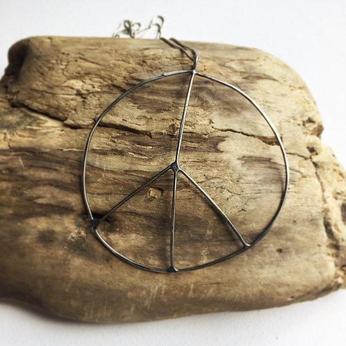 Wabi Sabi Peace Pendant