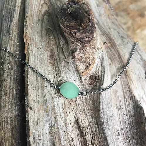 Emerald bead Pendant