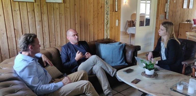EdTech DK CEO Mikkel Frich visited uQualio!