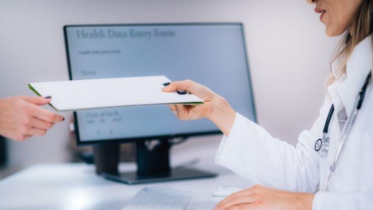 Image, sharing medical information