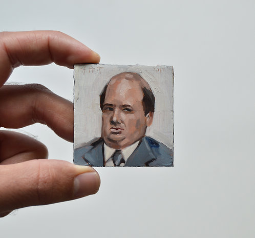Kevin (The Office) Magnet Oil Painting