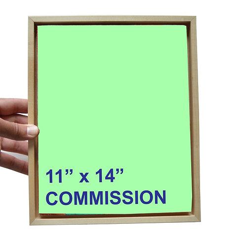 """11"""" x 14"""" Commission"""
