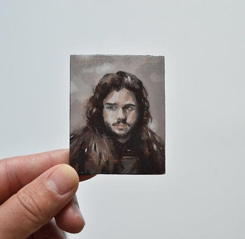 Jon Snow Magnet Oil Painting