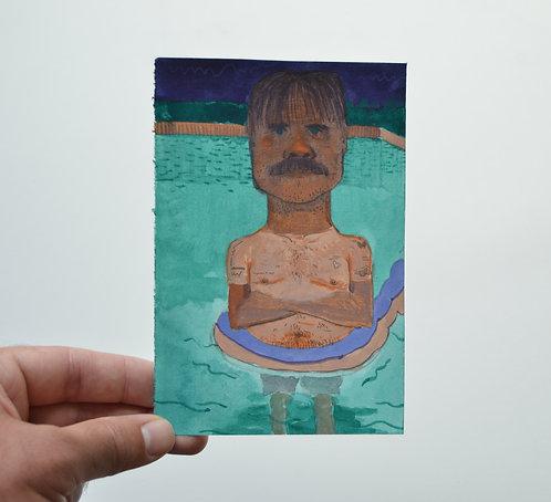 Swimmer Sketch