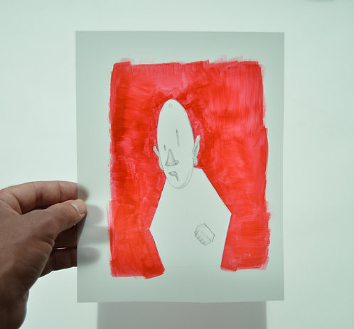 Character Study in Red