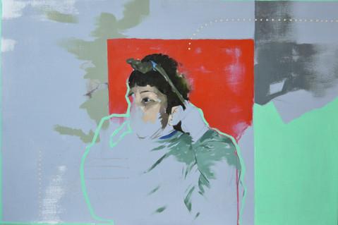 "Oil and Acrylic on Canvas 20"" x 30"""