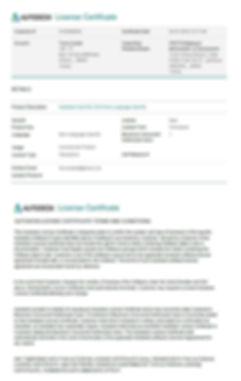 Autodesk Autocad 2016 License Certificate