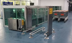 Shopping Cart Disinfection Cabinet, Market Arabası Dezenfeksiyon Kabini