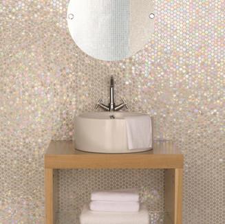 Original Style_Mosaics_White lady-basin