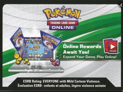 Hidden Fates - Mew Two Promo Online Code Card