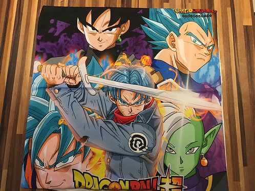 Dragon Ball Cushion Cover (Trunks)