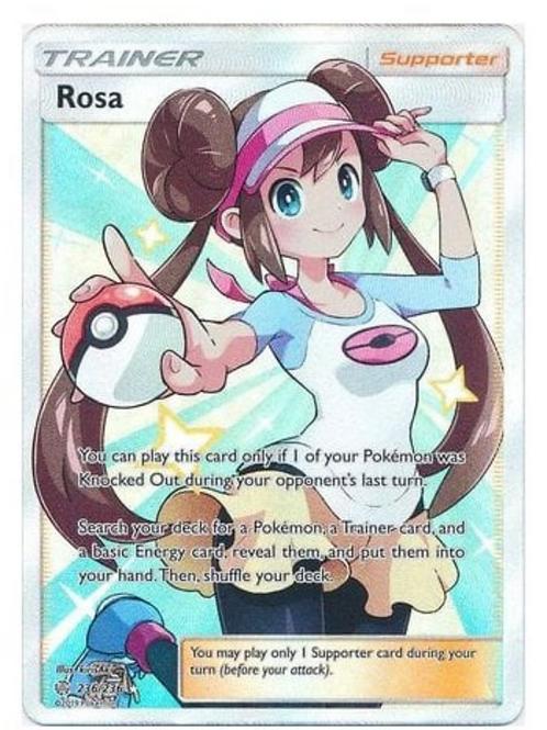 POKEMON COSMIC ECLIPSE 236/236 ROSA (FULL ART)