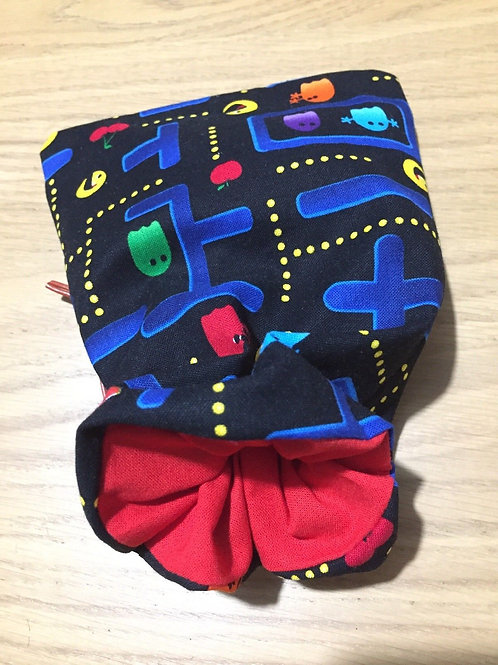 Pac-Man Dice Bag