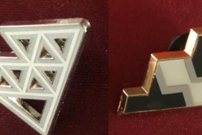 Pokemon Champions Path Circhester Pin Badge Set