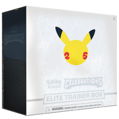 Pokémon Celebrations 25th Aniversary Elite Trainer Box