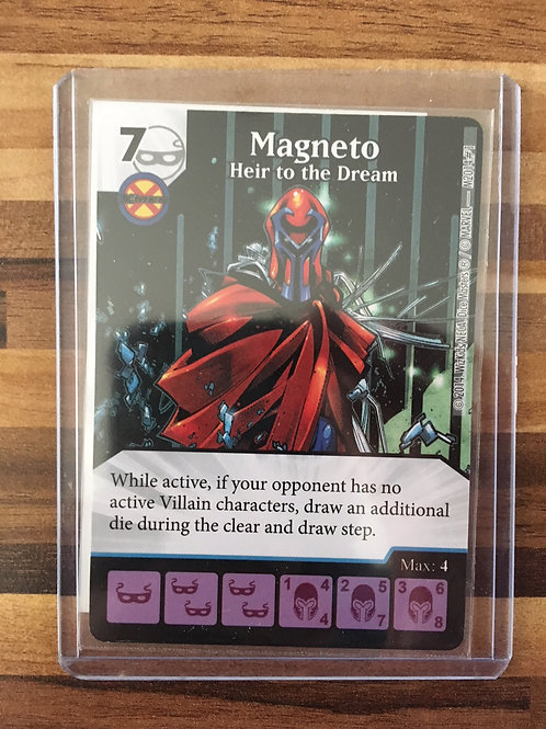 Dice Masters, Magneto - Heir To The Dream - Promo - M2014/#1