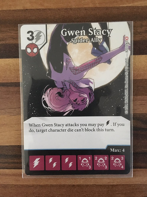Marvel Dice Masters, Gwen Stacy - Spider Ally, PROMO M2016#1