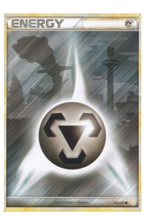 POKEMON Heart Gold & Soul Silver 122/123 Metal Energy